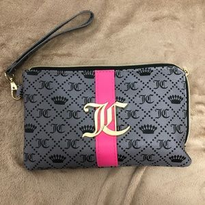 Juicy Couture charging (IPhone only) wristlet